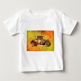 Vintage automobile retro fineart F051 Baby T-Shirt