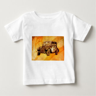 Vintage automobile retro fineart F052 Baby T-Shirt
