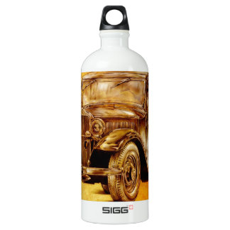 Vintage automobile retro fineart F052 Water Bottle