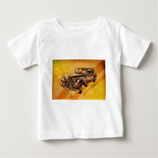 Vintage automobile retro fineart F053 Baby T-Shirt