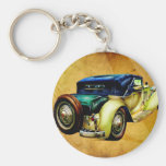 Vintage automobile retro fineart F054 Keychains