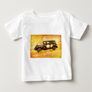 Vintage automobile retro fineart F055 Baby T-Shirt