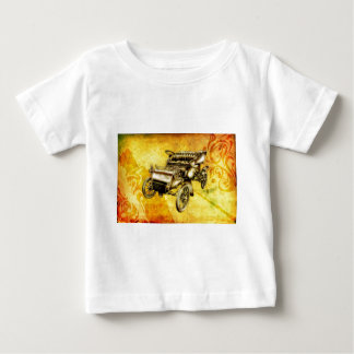 Vintage automobile retro fineart F056 Baby T-Shirt