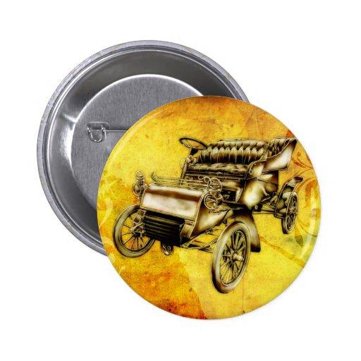 Vintage automobile retro fineart F056 Pin