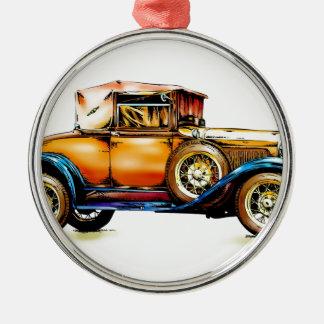 Vintage automobile retro FT31 Metal Ornament