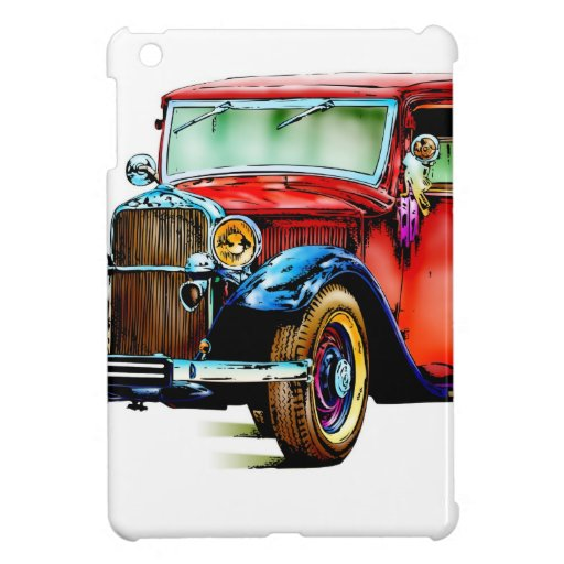 Vintage automobile retro FT32 iPad Mini Case