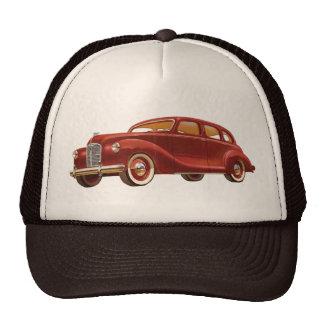 Vintage Automobile Trucker Hat Cap