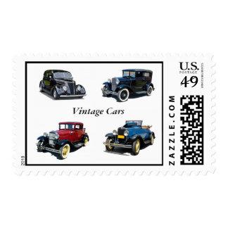 Vintage Automobiles Postage