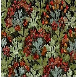 Vintage Autumn Floral Cutout