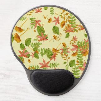 Vintage Autumn foliage Gel Mouse Pad