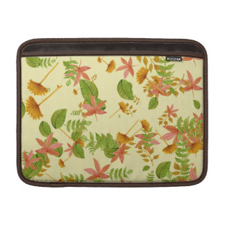 Vintage Autumn foliage MacBook Air Sleeve