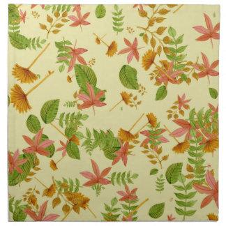 Vintage Autumn foliage Napkin