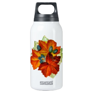 Vintage Autumn Leaves Fall Leaf Insulated Water Bottle