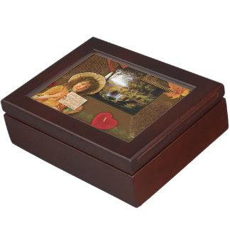 Vintage Autumn Love Keepsake Box
