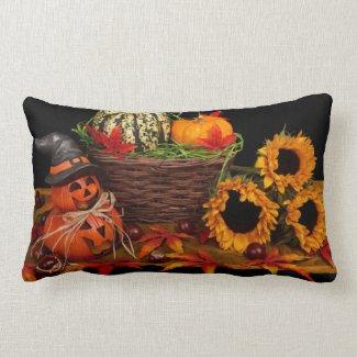 Vintage Autumn Lumbar Pillow