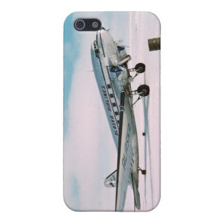 Vintage aviation airplane air plane pilot photo cover for iPhone SE/5/5s