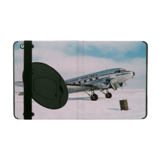 Vintage aviation airplane air plane pilot photo iPad cases