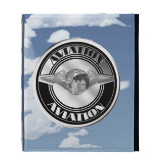 Vintage Aviation Art iPad Folio Cover