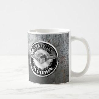 Vintage Aviation Art Coffee Mug