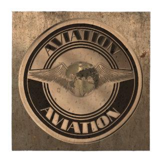 Vintage Aviation Art Beverage Coasters