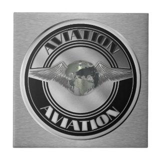 Vintage Aviation Art Ceramic Tiles