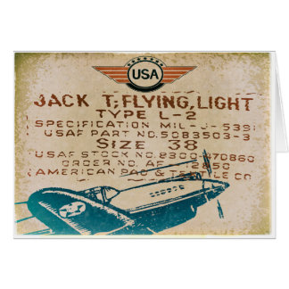 Vintage Aviation Greeting Cards
