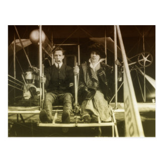 Vintage Aviation Postcard