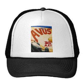 Vintage AVUS Race Poster Trucker Hat