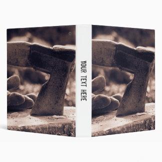 Vintage axe 3 ring binder