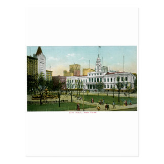 """Vintage """"ayuntamiento"""" Nueva York Tarjetas Postales"""