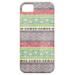 Vintage Aztec Tribal Pattern 1 iPhone Case iPhone 5/5S Cases