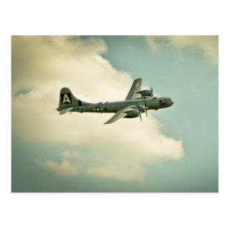"Vintage B-29 Bomber ""Fifi"" Postcard Warbird"