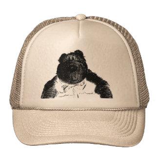 Vintage B Bear Cap Mesh Hat