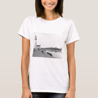 Vintage B&W and Sepia Lighthouse Photographs T-Shirt