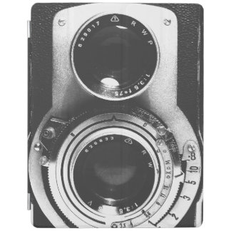Vintage b&w Camera iPad Smart Cover