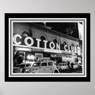 Vintage B&W Cotton Club Photo 16 x 20 Poster