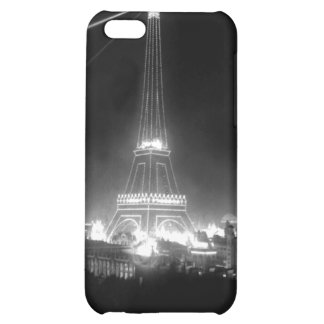 Vintage B&W Eiffel Tower Photo iPhone 5C Cover