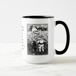 Vintage Baa, Baa, Black Sheep Rhyme Mug