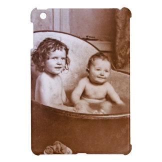 Vintage Baby Bath Time iPad Mini Cases