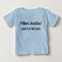 Vintage Baby Birthday Baby T-Shirt