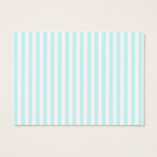 Vintage Baby Blue Pastel Colors Stripes Pattern Business Card