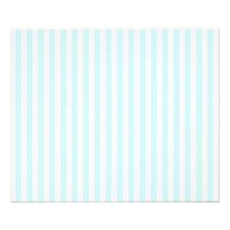 Vintage Baby Blue Pastel Colors Stripes Pattern Photo Print