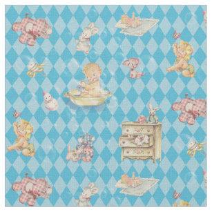 Baby Elephant Fabric Zazzle