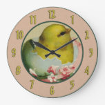 Vintage Baby Chick Wall Clock