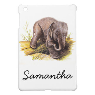 Vintage Baby Elephant Cover For The iPad Mini