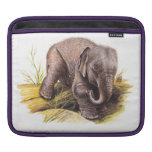 Vintage Baby Elephant Sleeve For iPads
