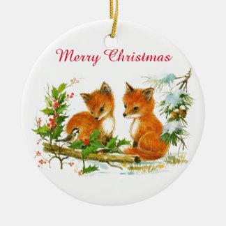 Baby Fox Ornaments & Keepsake Ornaments | Zazzle
