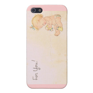 Vintage Baby Girl iPhone SE/5/5s Case