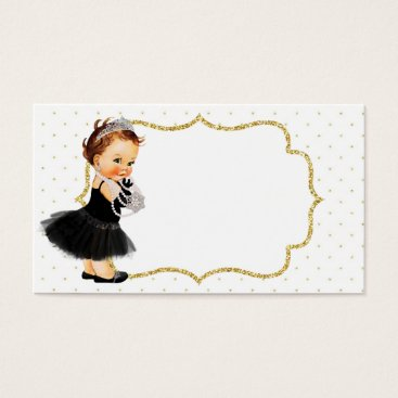 Professional Business Vintage Baby Girl Princess Business Card