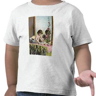Vintage Baby On A Dresser T-shirts